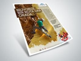 Erzurum'da Doğa Sporları Afişi